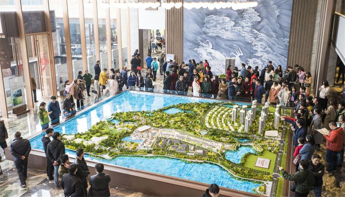 江河地产南湖天著项目全球发布