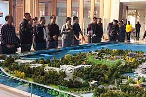 年底1-3标段竣工〡市领导考察南湖·赊月公园建设